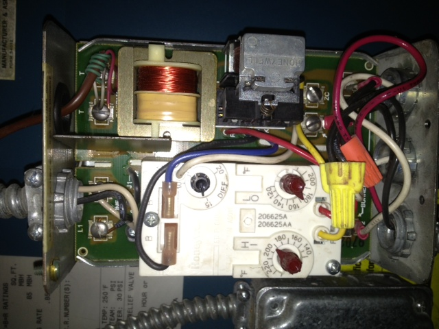 Honeywell Control Board Furnace on Honeywell Switching Relay Wiring Diagram