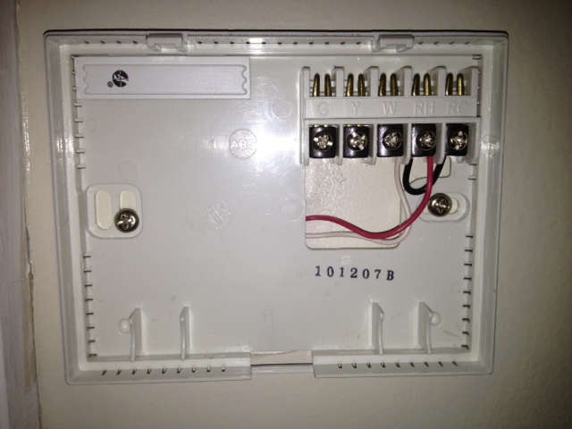 Honeywell WiFi    thermostat    RTH9580WF     Heating Help  The Wall