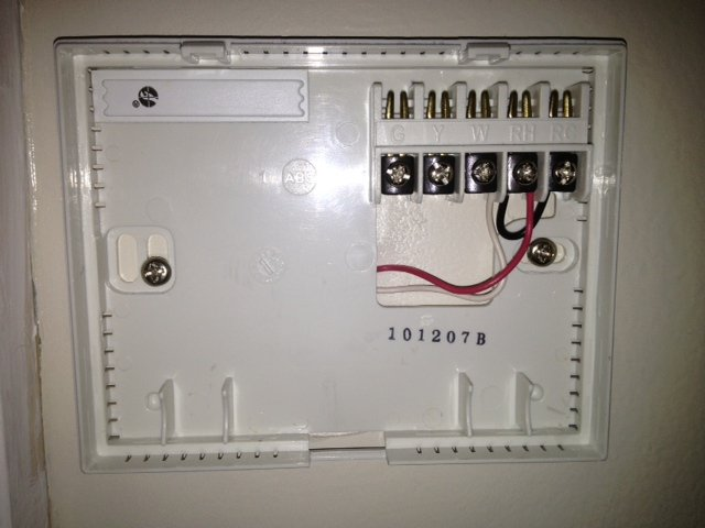 LuxPro honeywell wifi thermostat rth9580wf heating help the wall luxpro thermostat wiring diagram at crackthecode.co