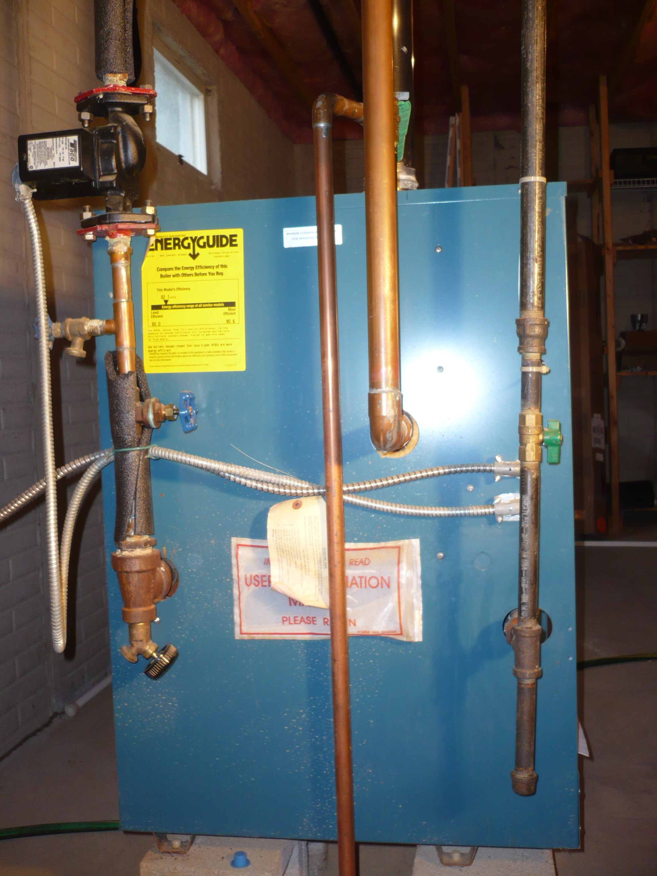 Noise from Boiler and Hot Water Tank — Heating Help: The Wall