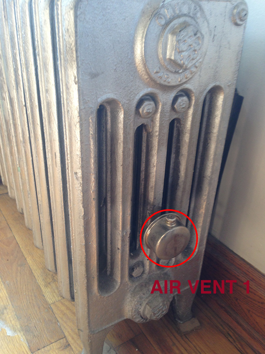 Shutting Off One Pipe Steam Radiator Heating Help The Wall