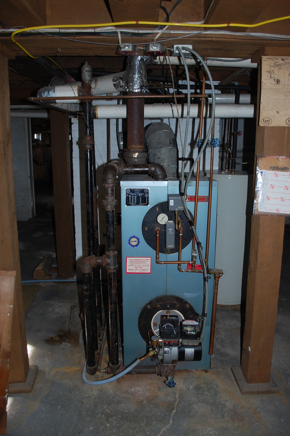 Oil To Gas Conversion Of Hbsmith Boiler Heating Help