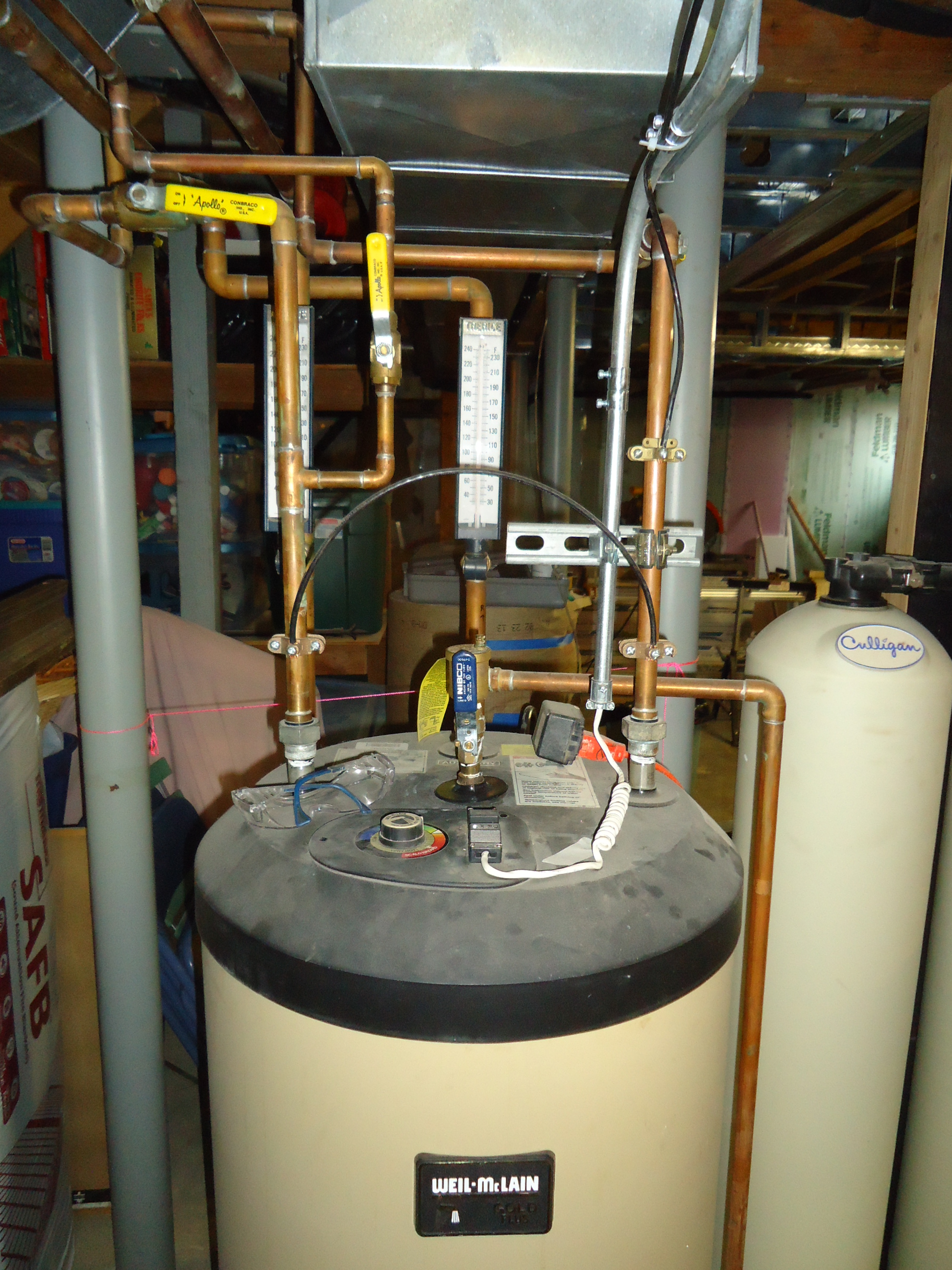 Weil Mclain Indirect Hot Water Heater Short Cycling