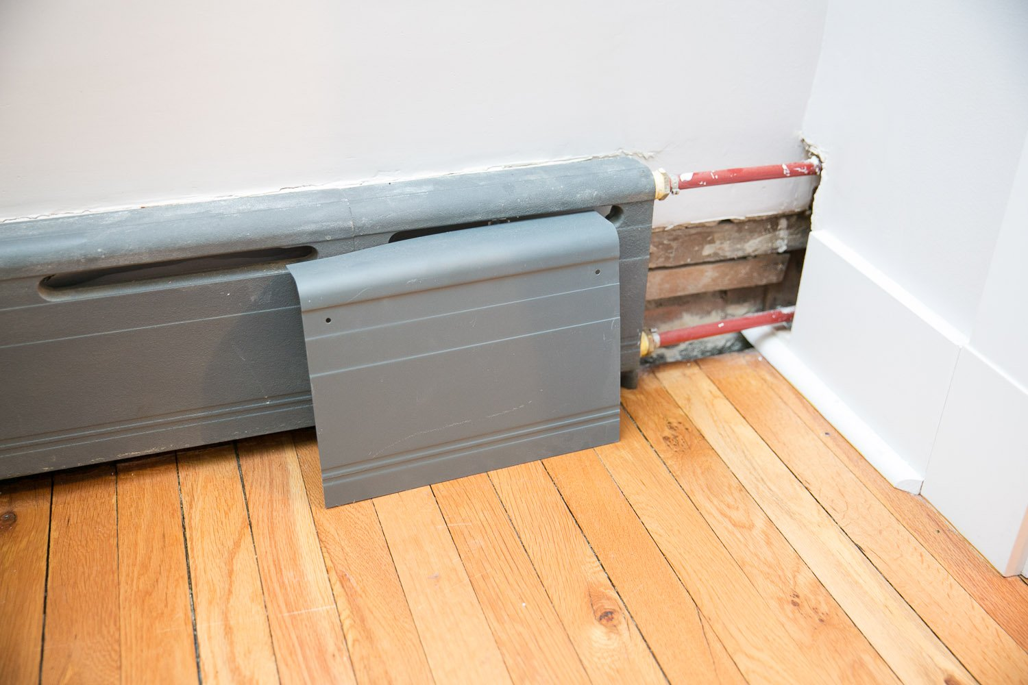 Improving Appearance Of Baseboard Heaters Heating Help