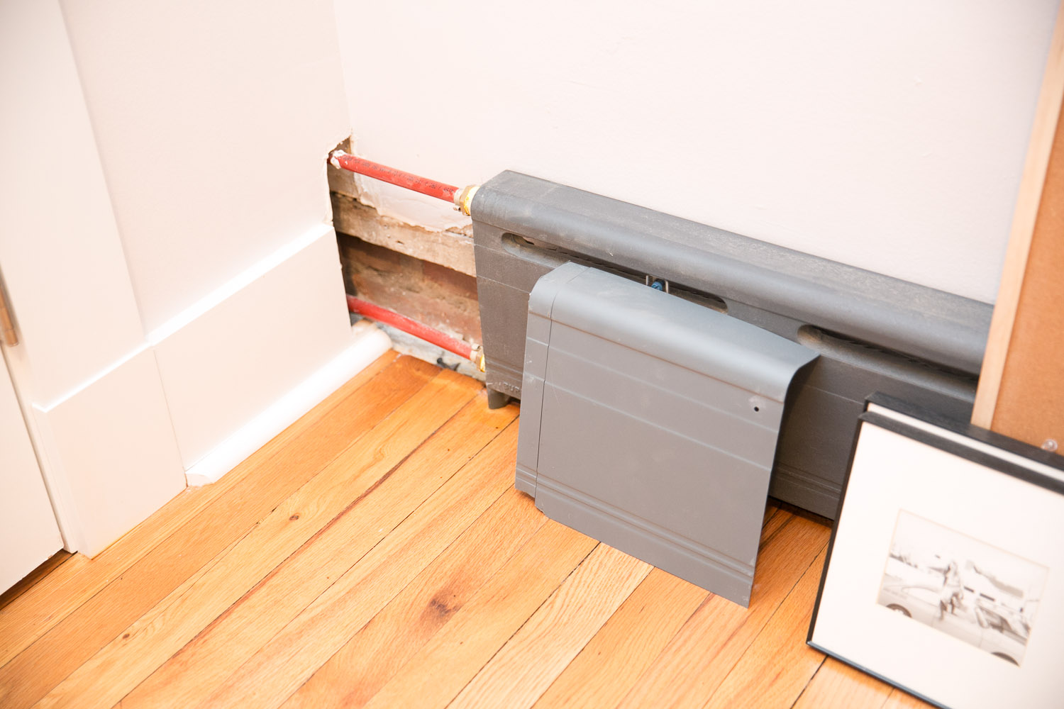 Improving Appearance of baseboard heaters — Heating Help