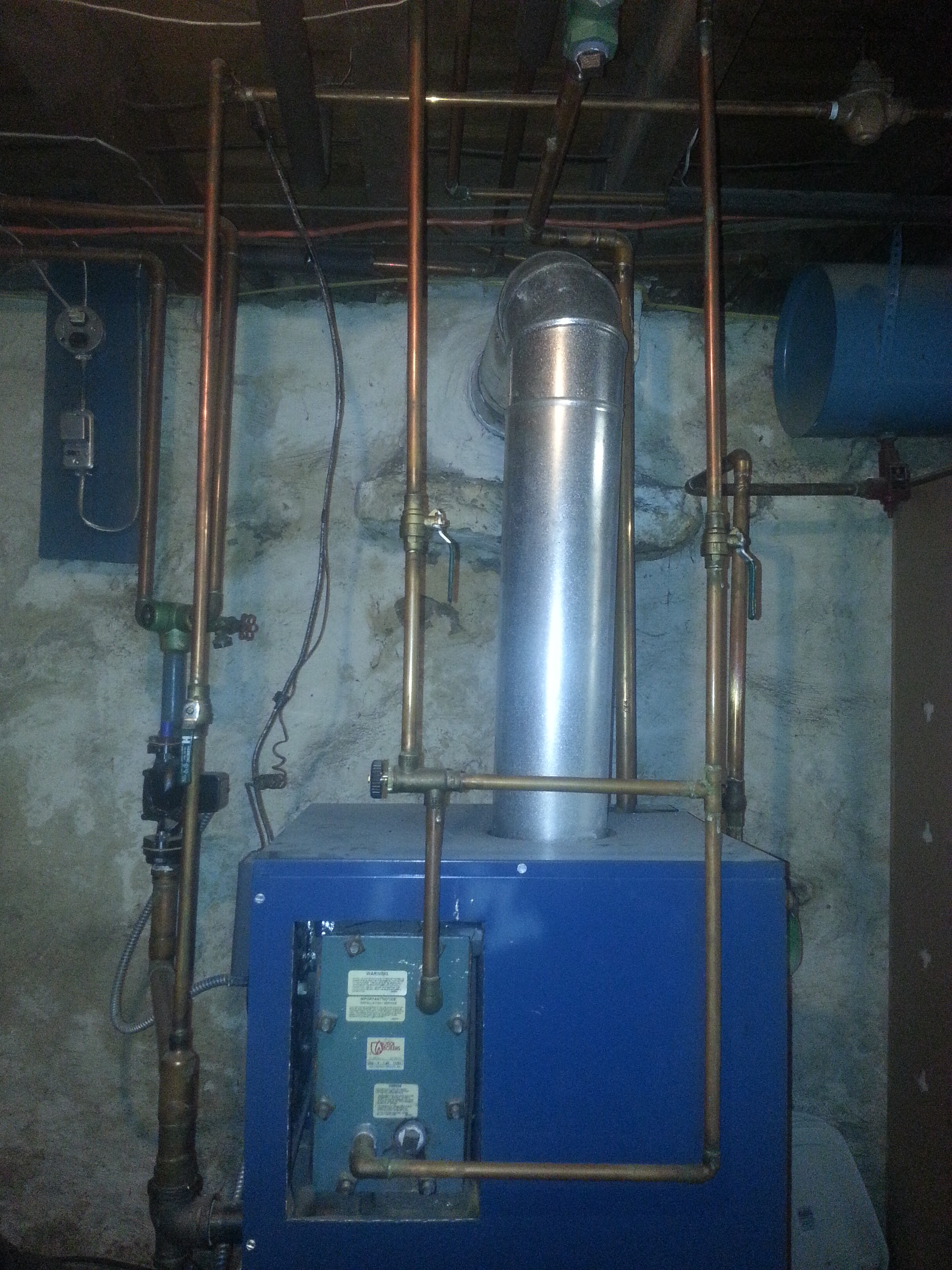 New gas boiler sizing — Heating Help: The Wall