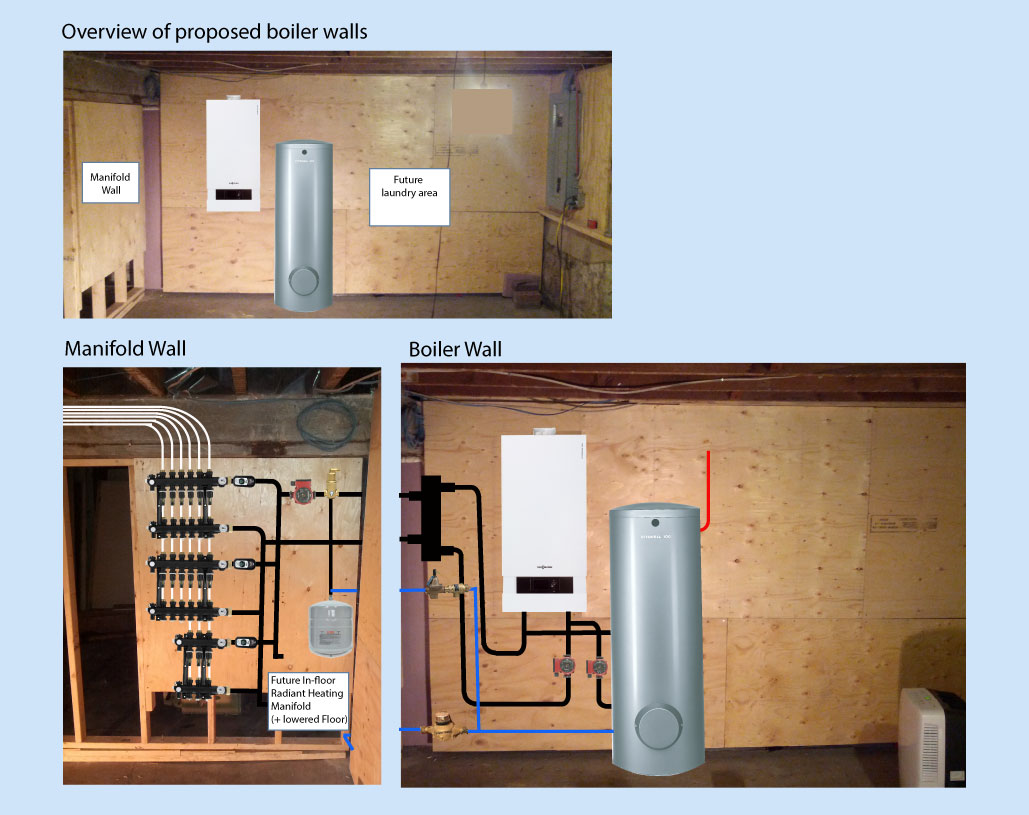 Boiler Room Layout Mock-up – reasonable, flawed or both? — Heating ...