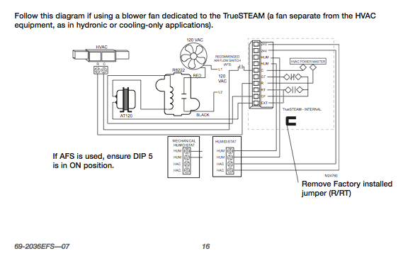 Page 16 honeywell tru steam humidifer heating help the wall honeywell truesteam wiring diagram at eliteediting.co
