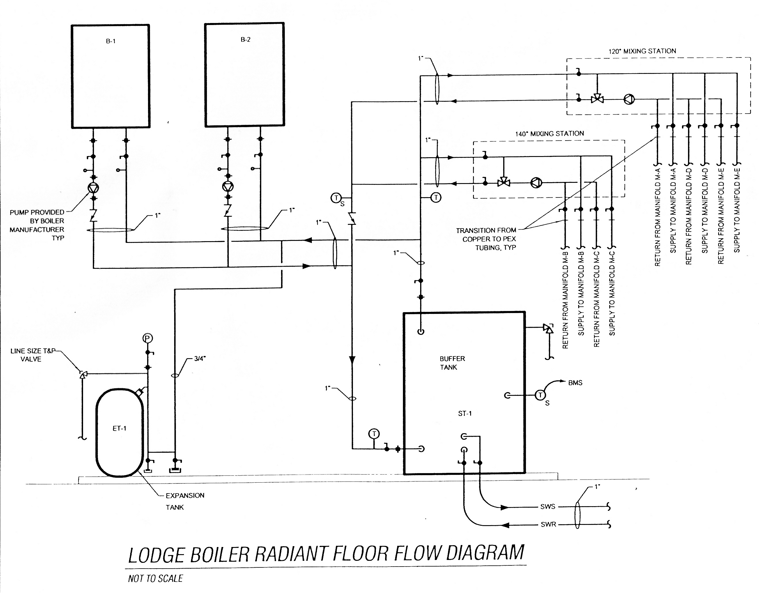 Electric Hot Water Tank Plumbing Diagram Trusted Wiring Schematics Buffer Piping Block And Schematic Diagrams U2022