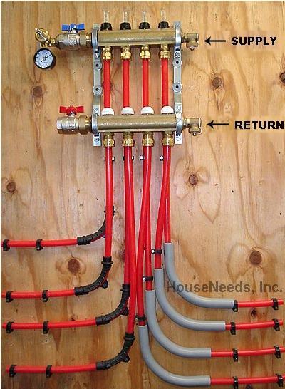Replacing Large Low Hanging Boiler Pipes Heating Help