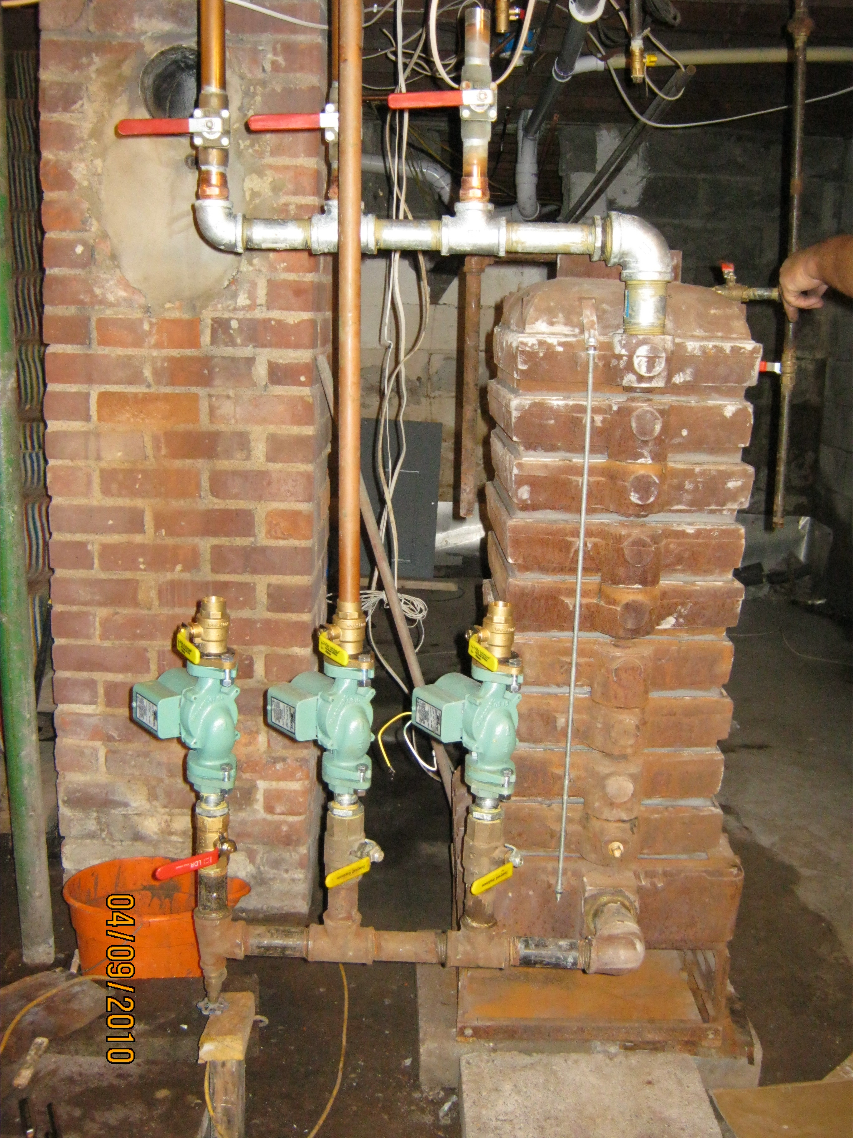 Hydro Therm Cast Iron boiler — Heating Help: The Wall