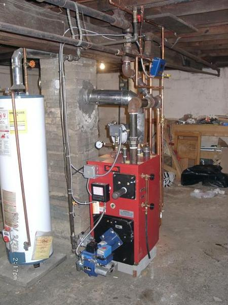 Near Boiler Piping Heating Help The Wall