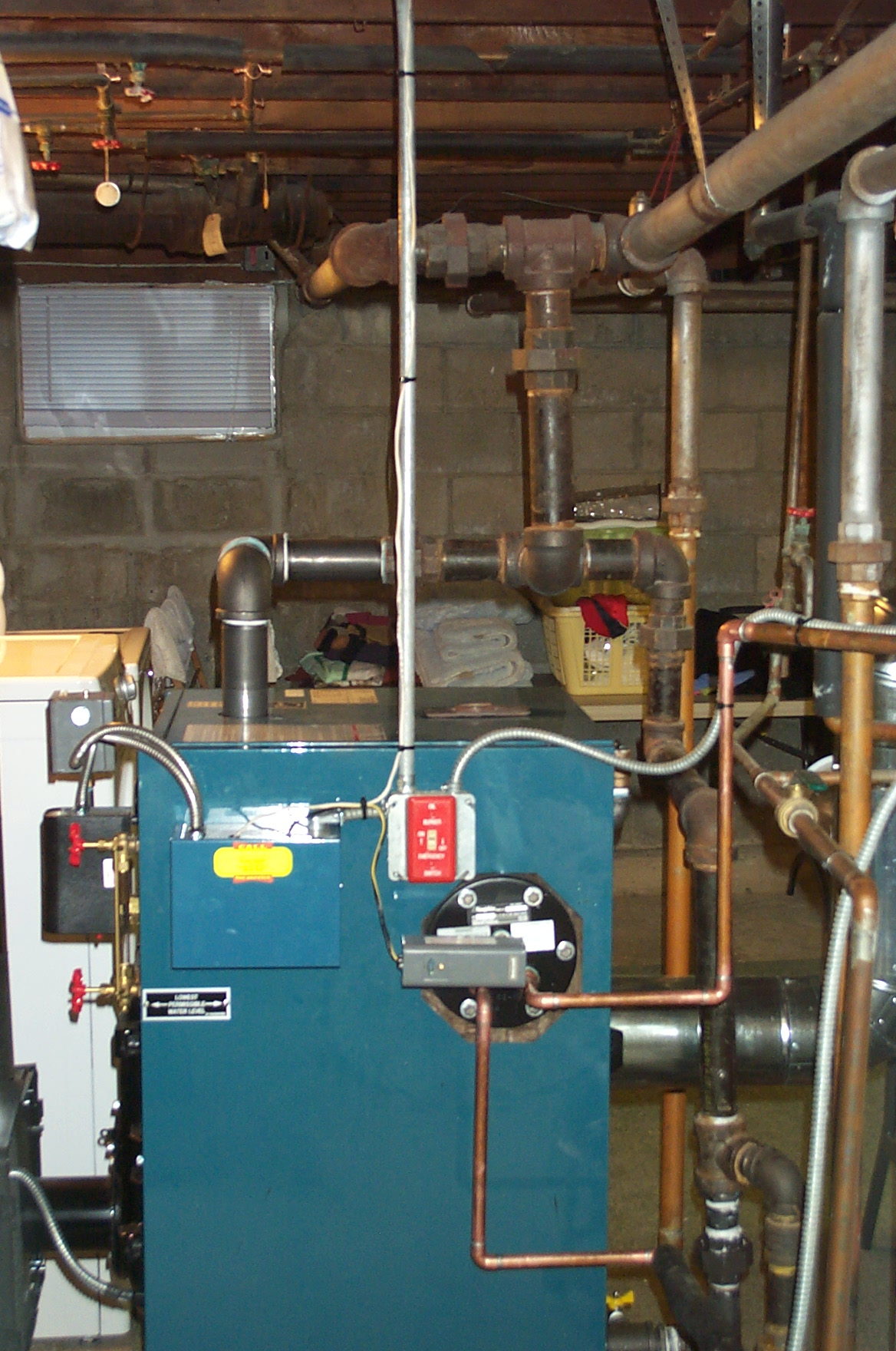 Queston about boiler size & Burnham — Heating Help: The Wall