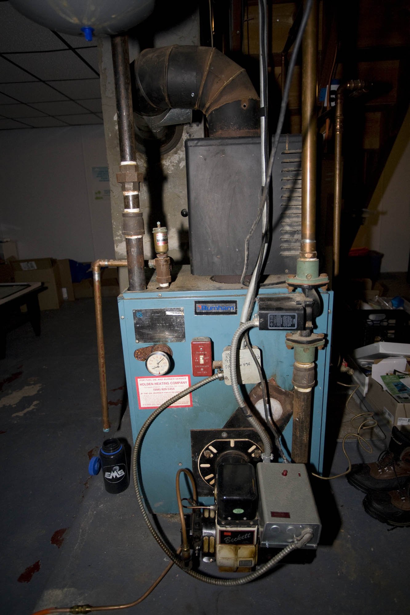 Boiler is cycling but no demand for heat — Heating Help: The Wall