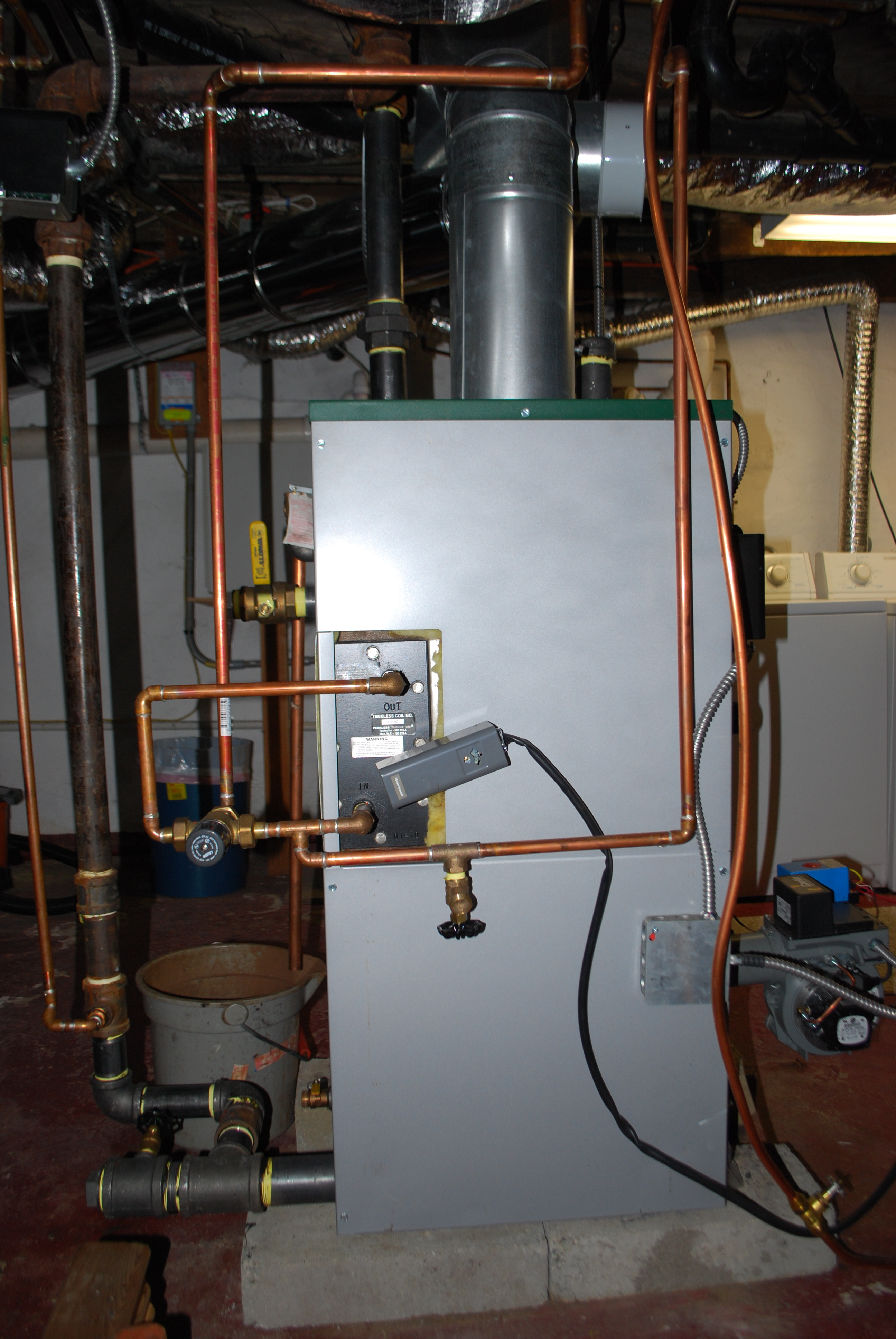 Improperly Installed Steam Boiler? — Heating Help: The Wall