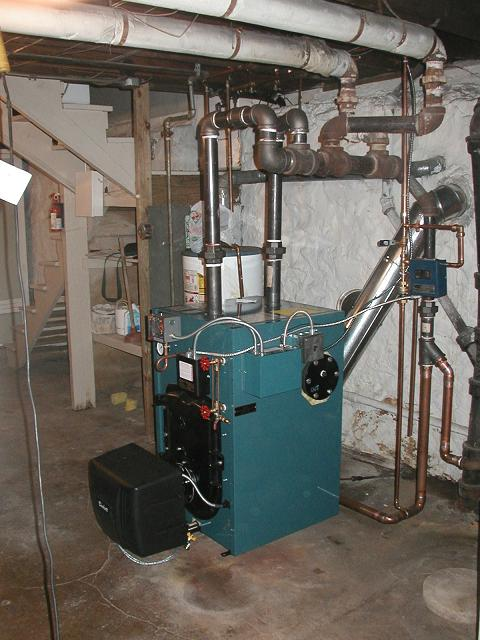 Steam Boiler: Burnham Mega Steam Boiler