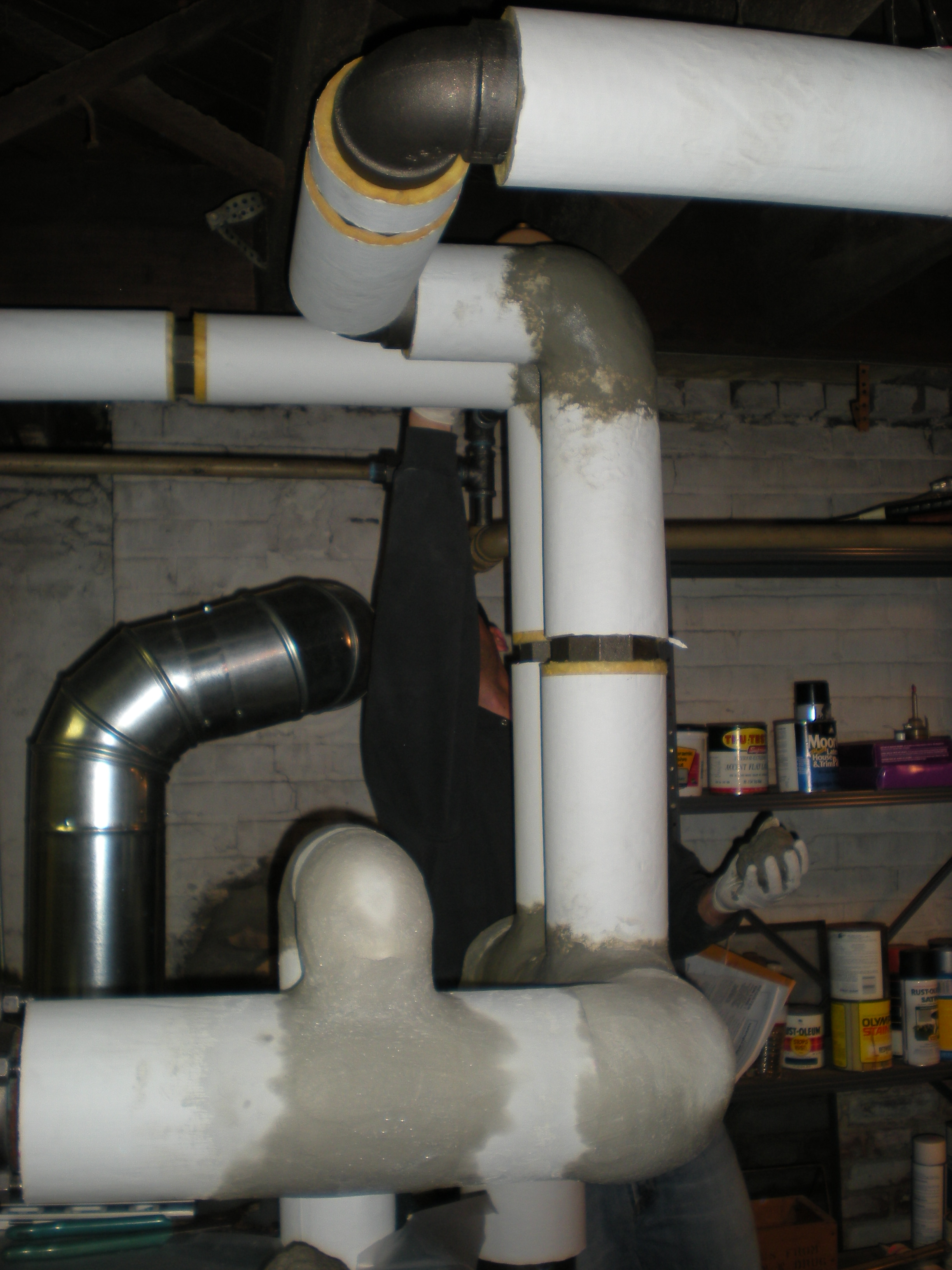 What type of pipe insulation should be used on the near for Insulation for copper heating pipes