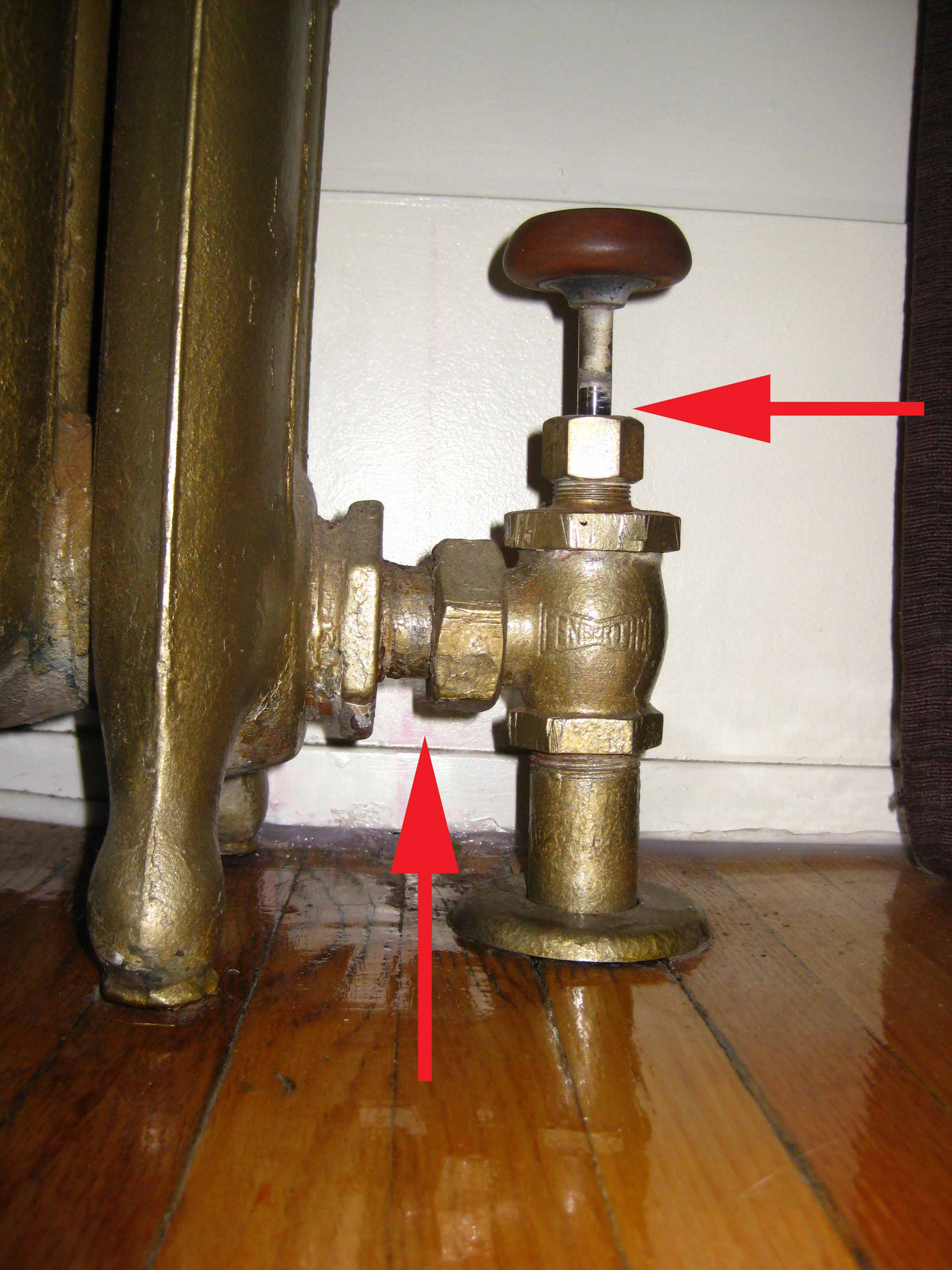 Steam Leak From Pipe : Apartment radiator leaking latest bestapartment