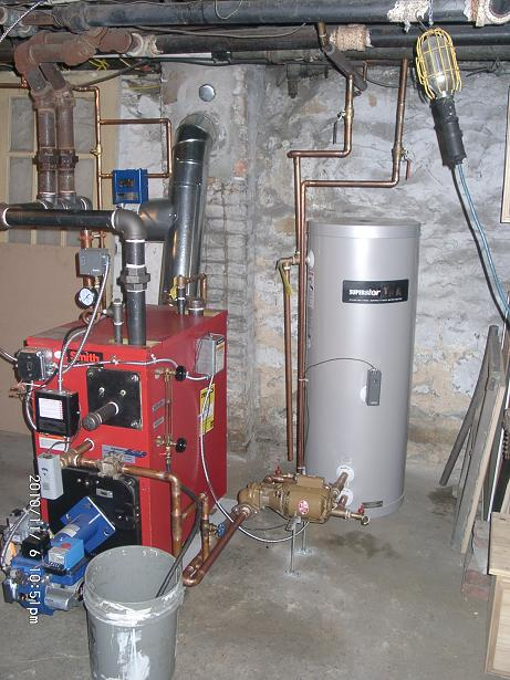 Forced Hot Water Zone On Steam System Air Bound Heating