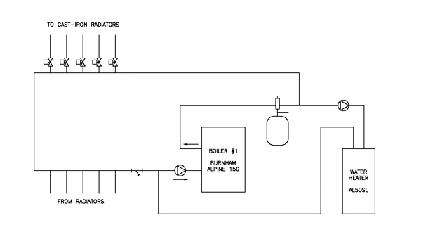 piping diagram images the wiring diagram boiler piping configurations heating help the wall wiring diagram