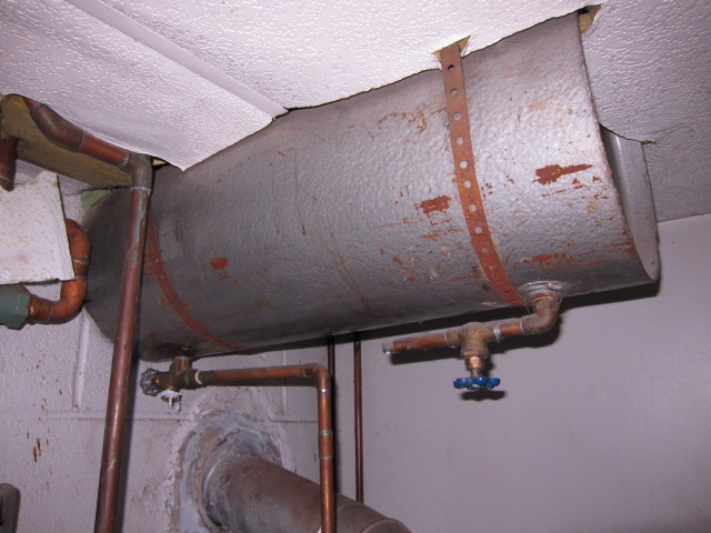 Old Expansion Tank Draining Heating Help The Wall