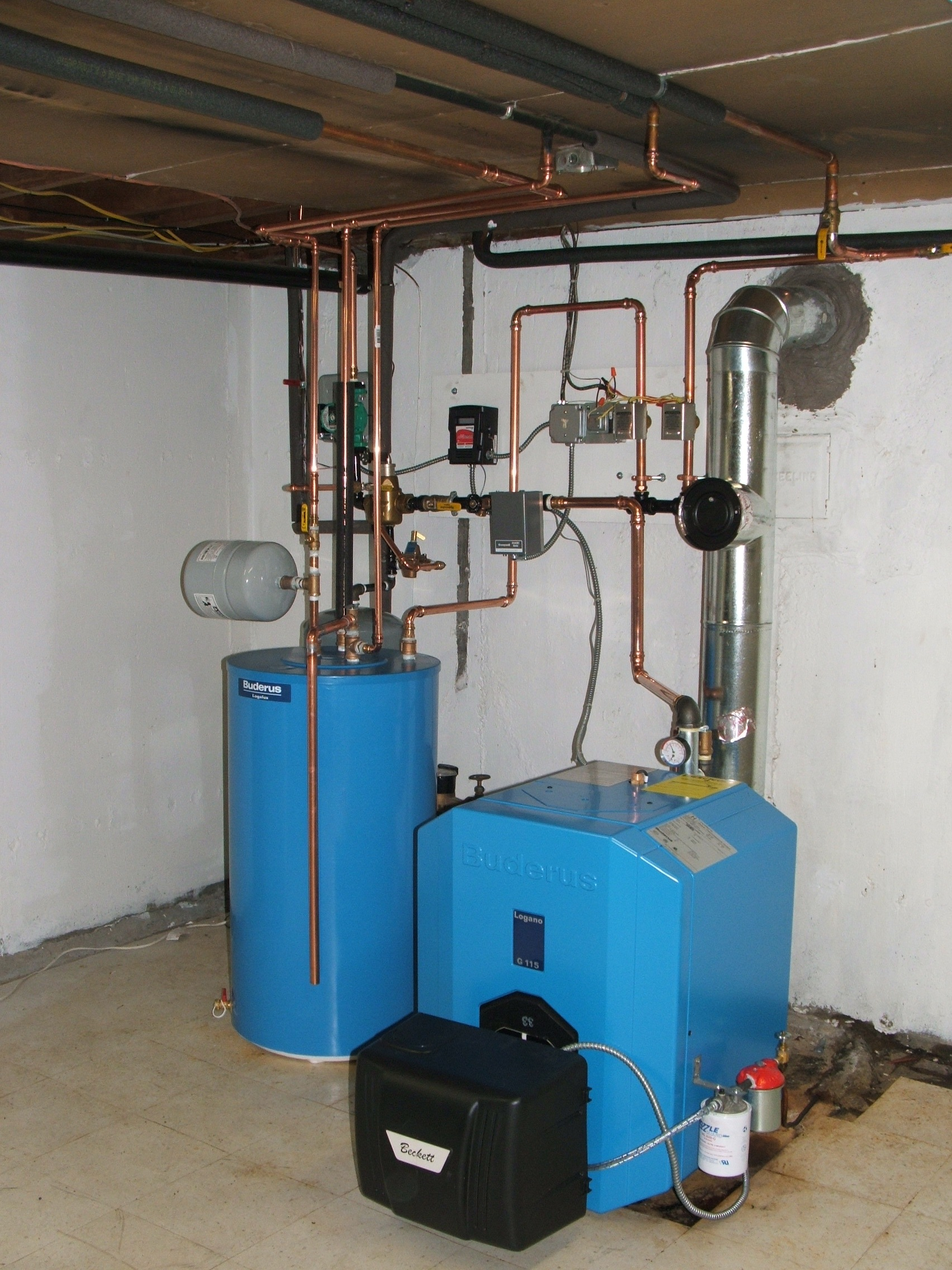 Considering Buderus Heating Help The Wall