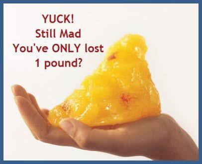 What does a 1lb of fat look like