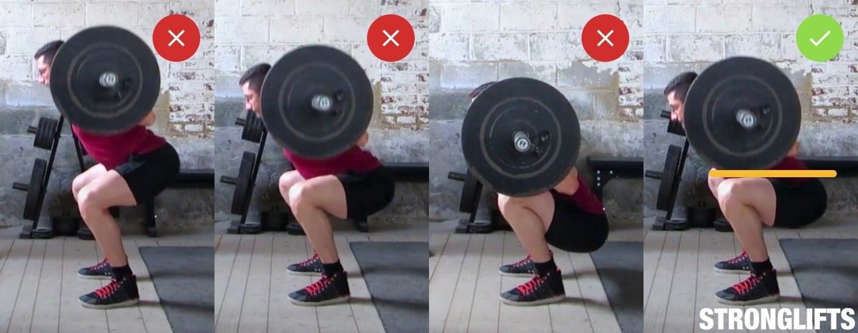 Stronglifts 5x5ers, Squat help? — MyFitnessPal com