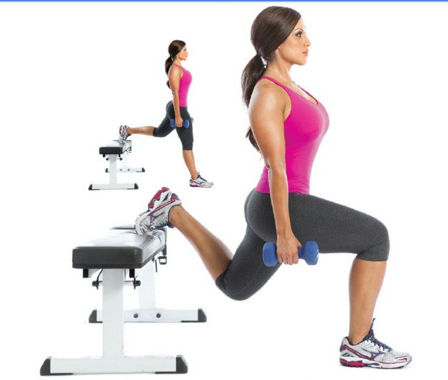Упражнения на стульях в домашних условиях