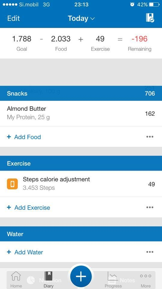 Steps calorie adjustment disappears after adding an exercise