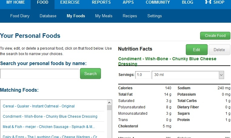 How To Delete Foods From List In My Fitness Pal