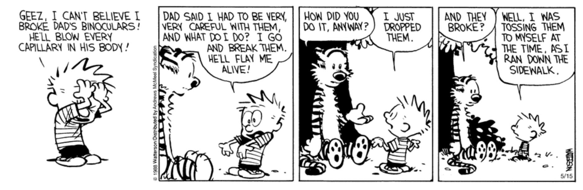 Calvin And Hobbes Page 95 Myfitnesspal