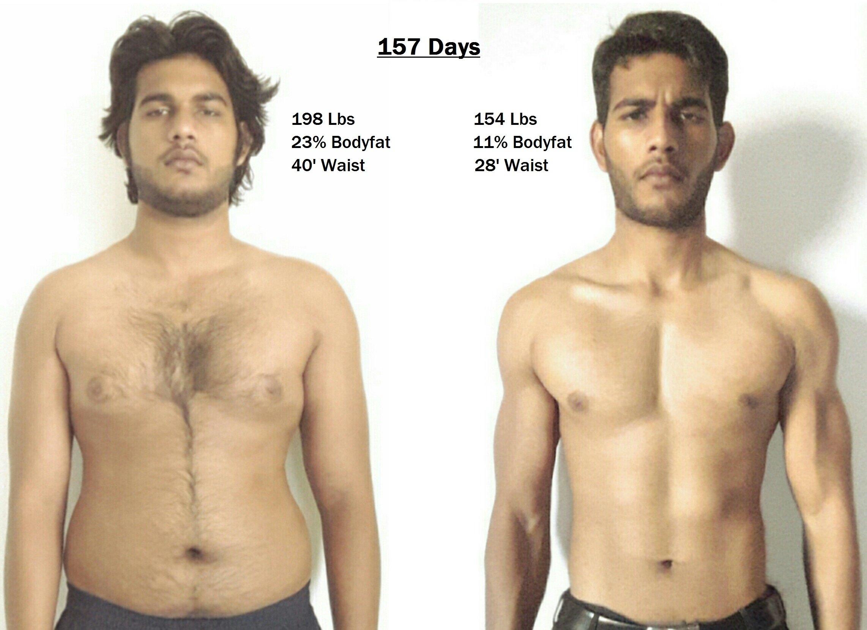 body fat percentage no period