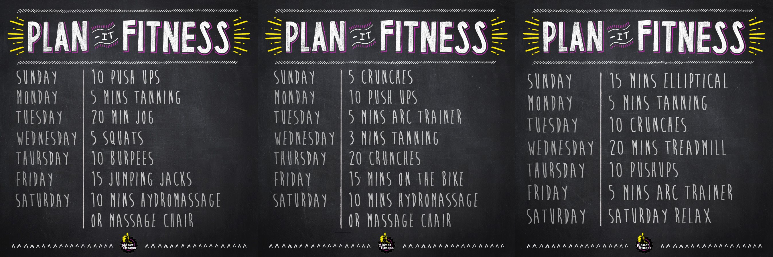 Planet Fitness Workout Plan For Men Rubik
