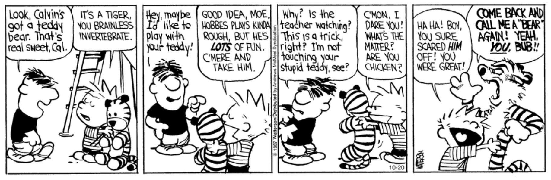 Calvin And Hobbes Page 80 Myfitnesspal