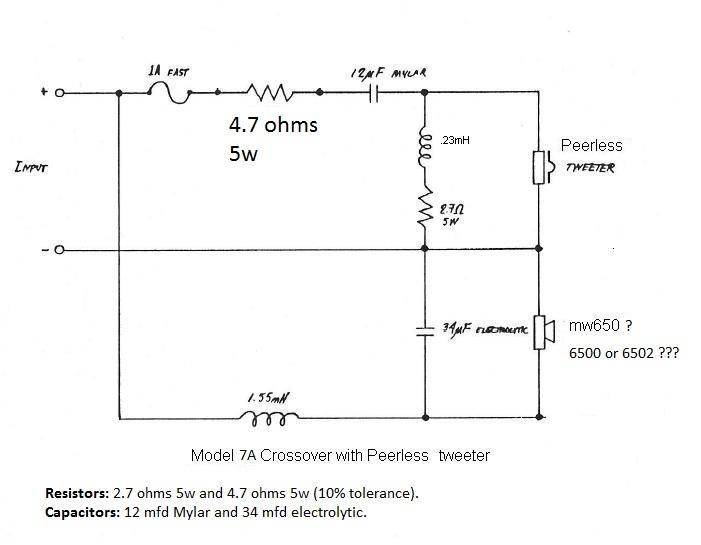 Polk Monitor 7a With Peerless Resistor Value     U2014 Polk Audio