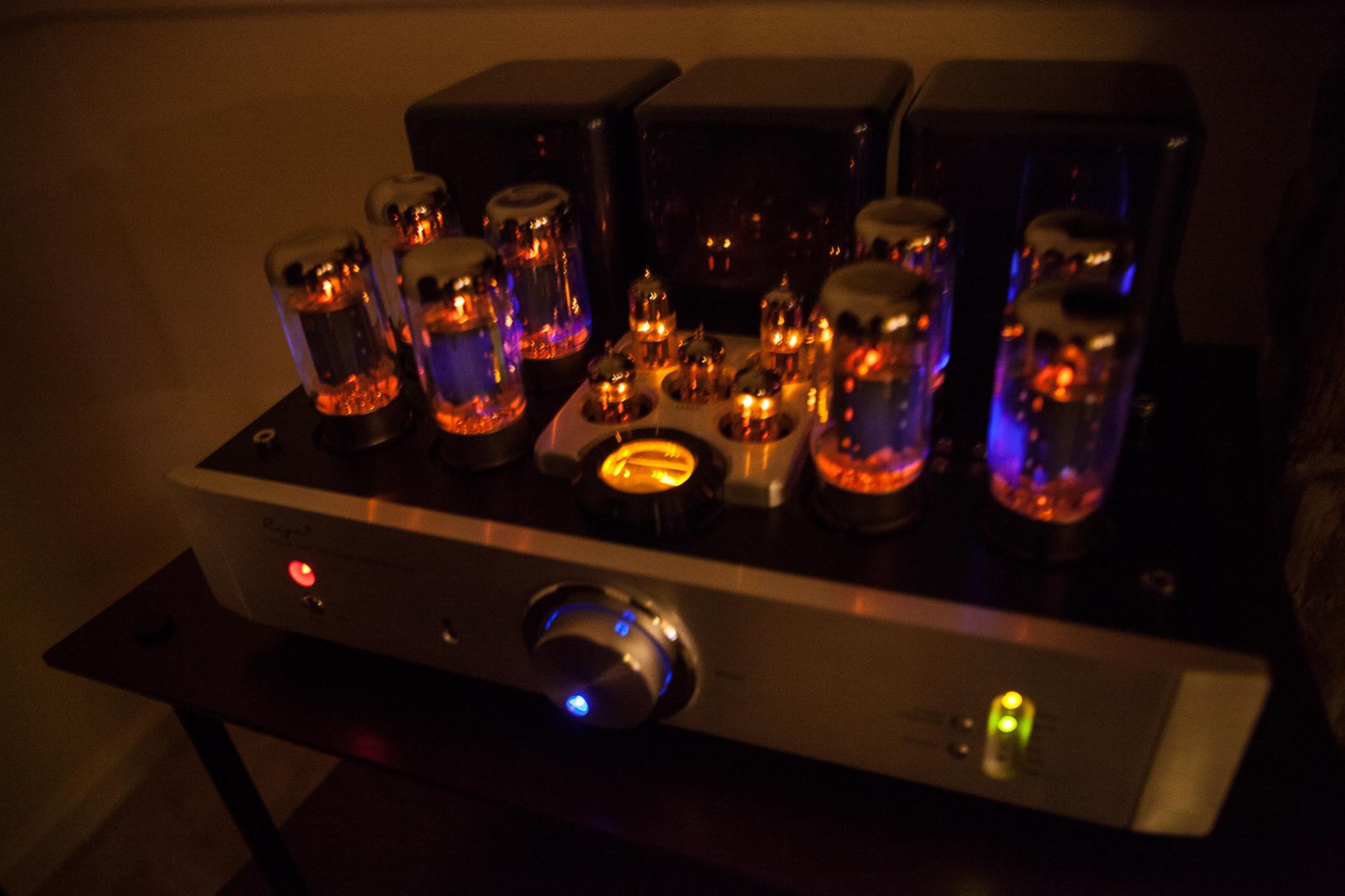 My 1st tube horror — Polk Audio