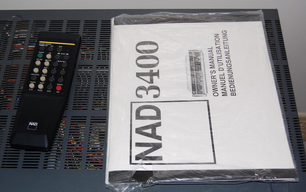 NAD 3400 - VERY NICE integrated amp — Polk Audio