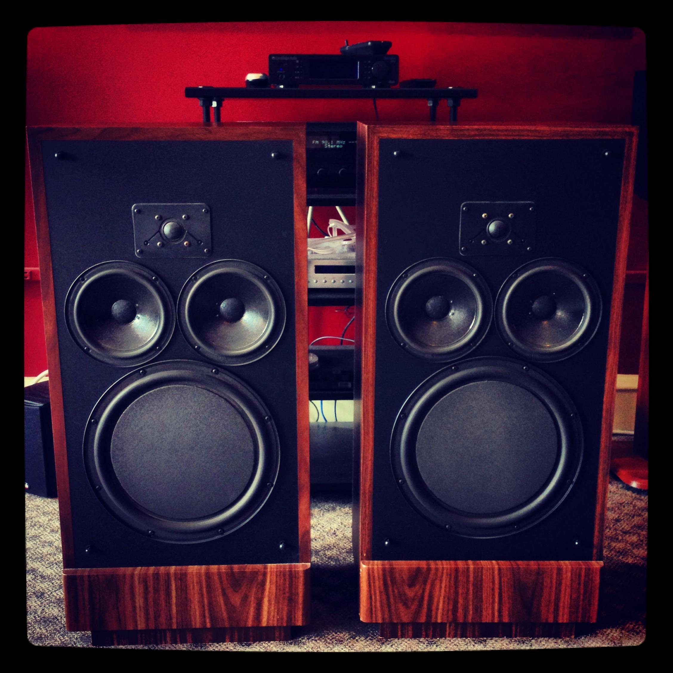 amp to drive R T A  12C? — Polk Audio