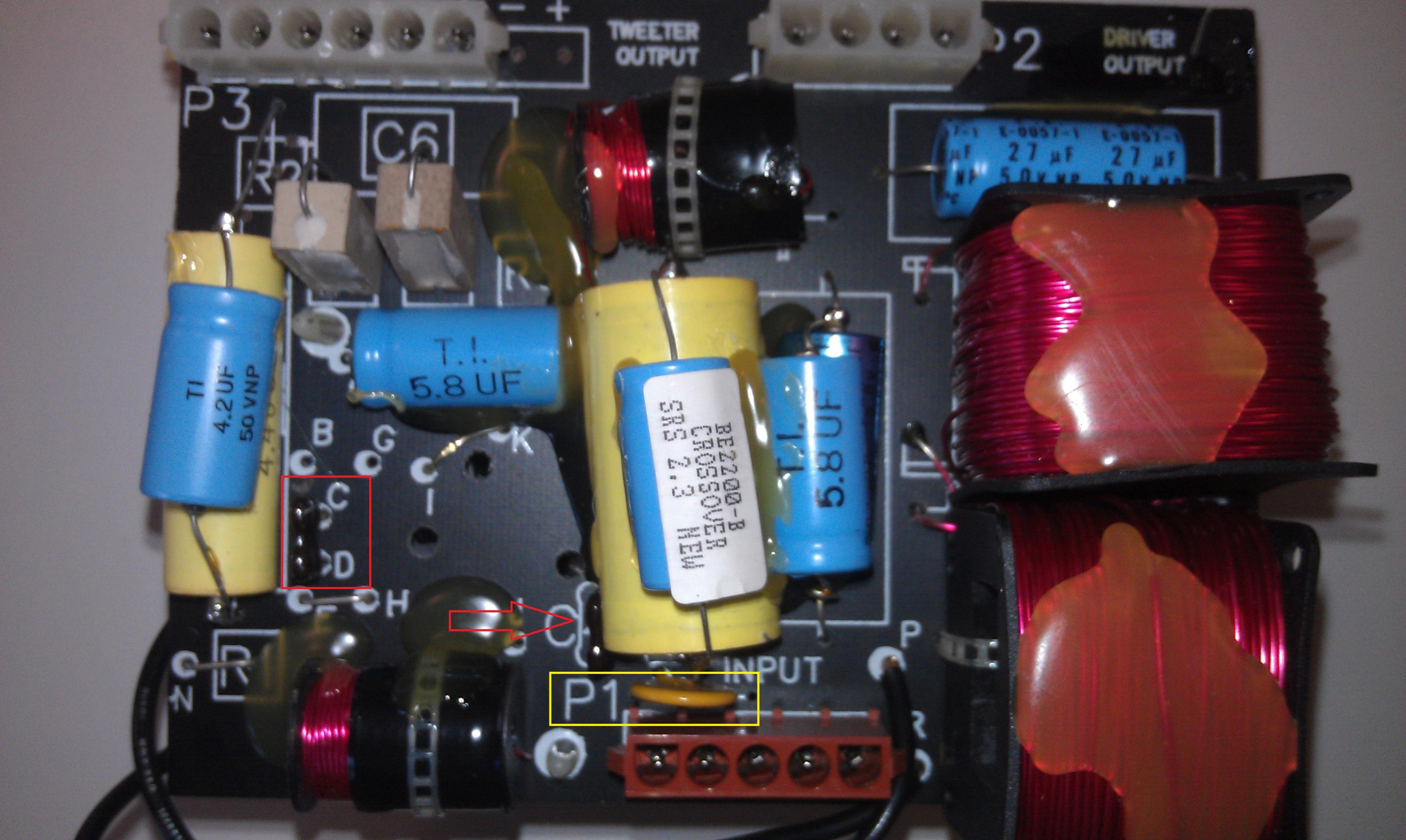 Questions About Stock 23tl Crossover Polk Audio Reading Electrical Diagrams I Can T See The Between These Imag0192