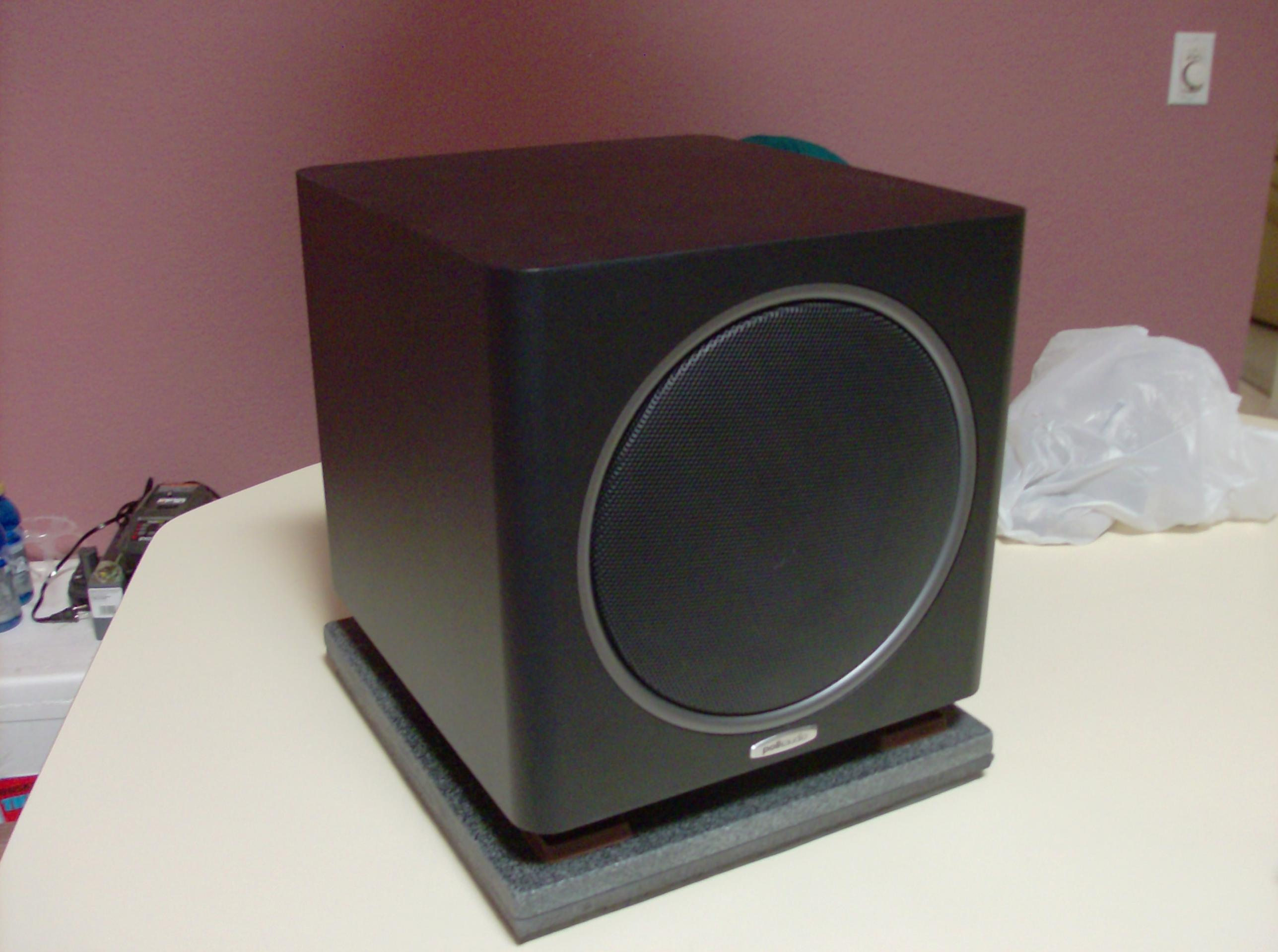 Diy Subwoofer Isolation Riser Wood Granite Marble