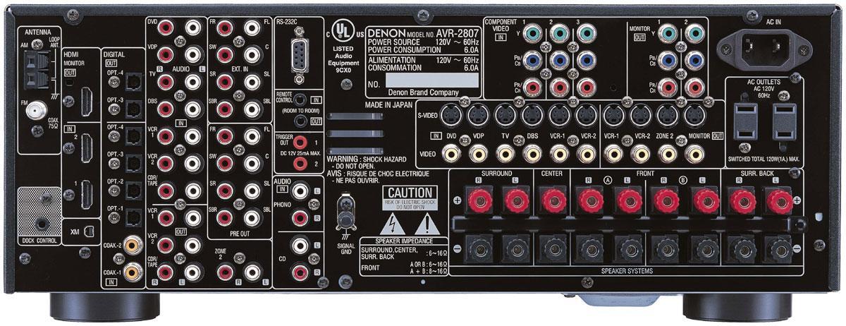 4 LSi 9's w/ a Denon 2087? — Polk Audio