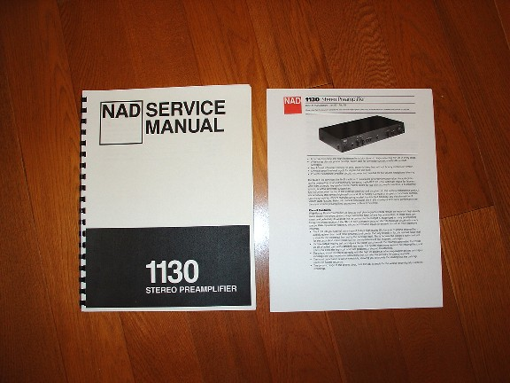 NAD 1130 Pre-Amp(Phono) - USED 7/10 — Polk Audio