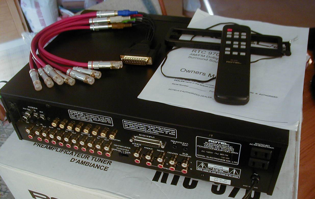 fs rotel rtc 970 surround tuner preamp 150 shipped conus polk audio rh forum polkaudio com