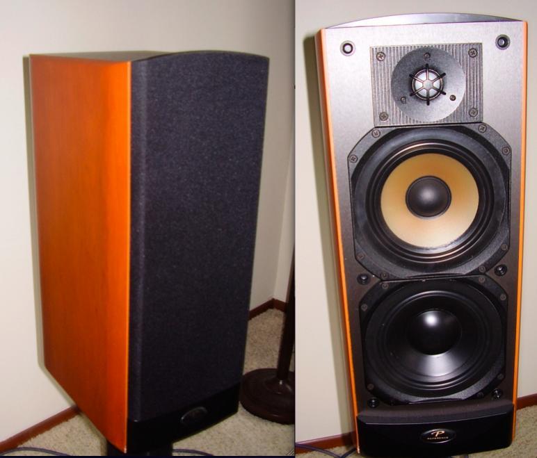 Paradigm Studio 40 v2 Rare Cherry Veneer — Polk Audio