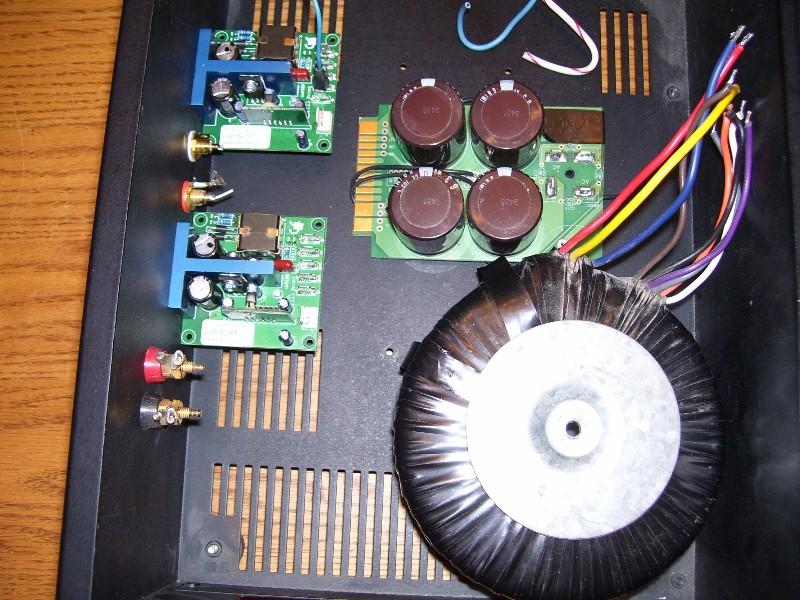 Hypex Class D build — Polk Audio