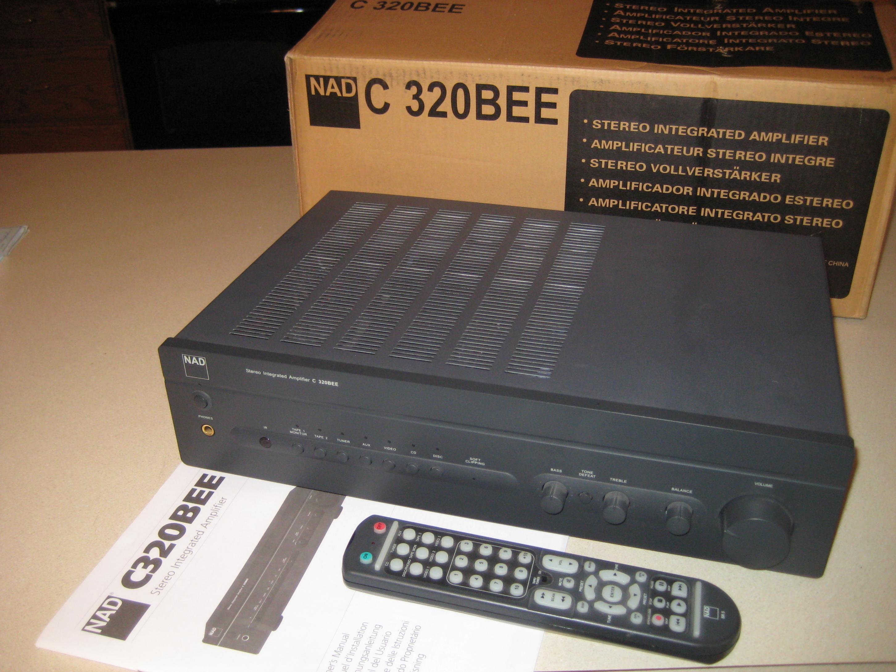 Nad c320bee — Polk Audio