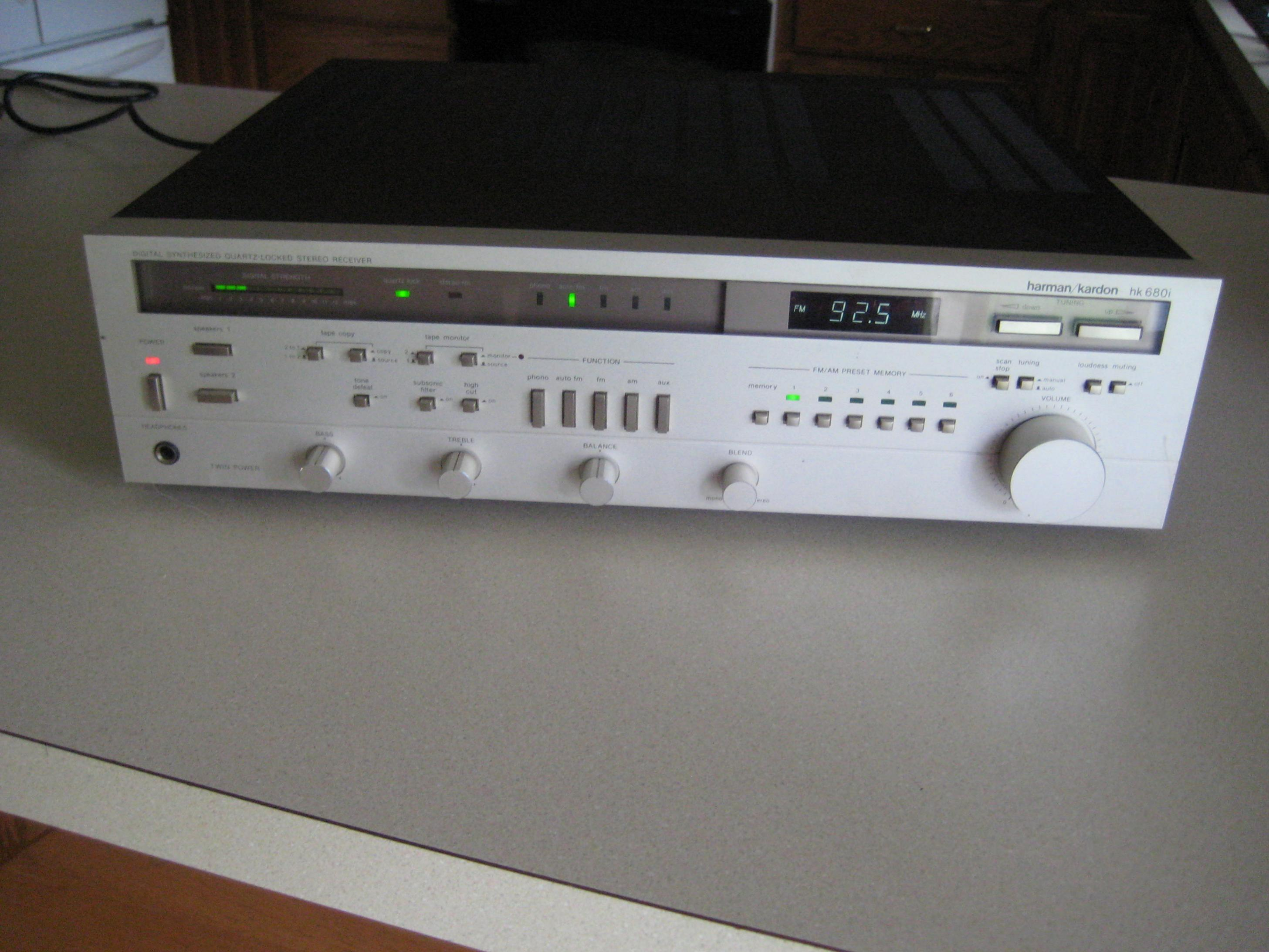 My toys NAD phono stage, Denon Integrated, HK receiver