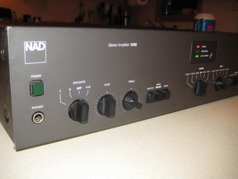 Very Nice NAD 3155 55 w/ch integrated amp — Polk Audio
