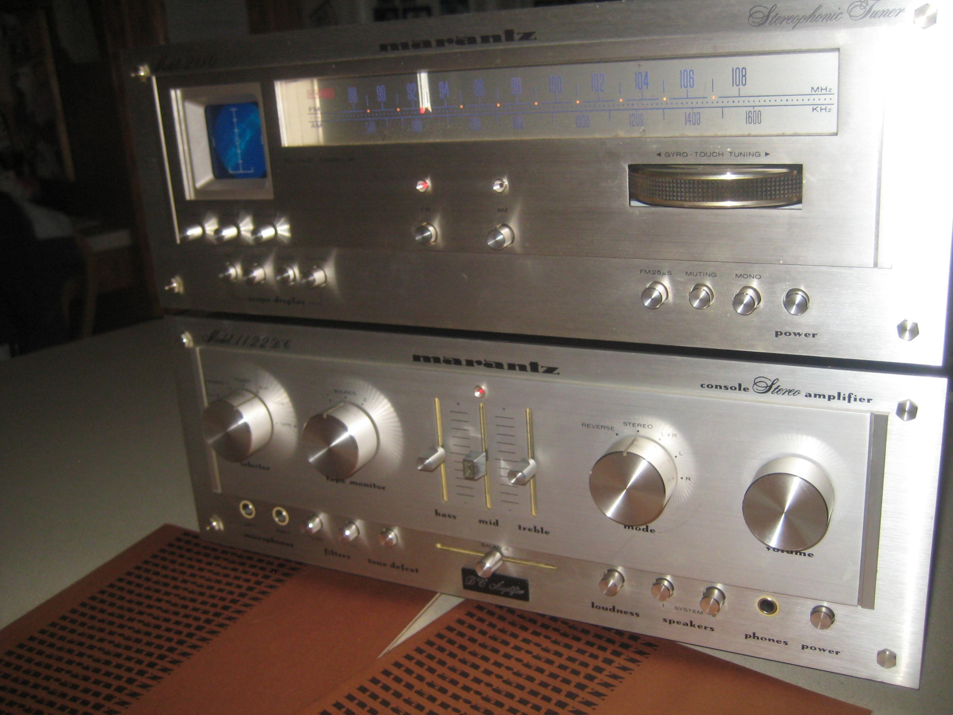 fs nice marantz 1122 dc and 2110 tuner polk audio rh forum polkaudio com